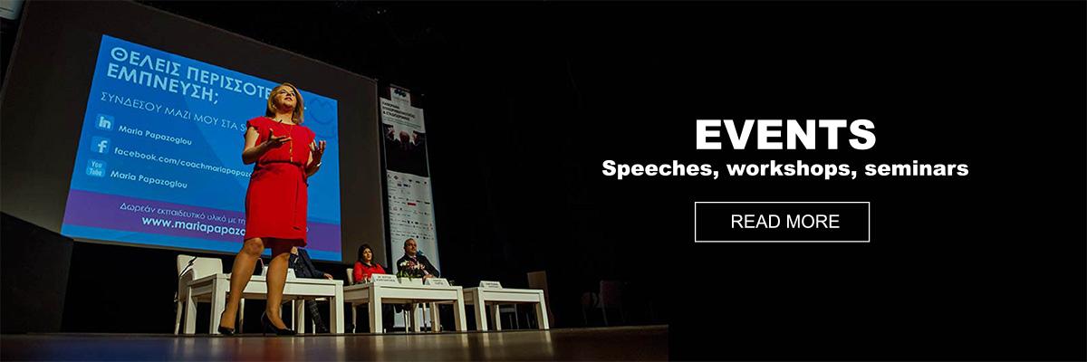 Events-speeches-workshops-seminars